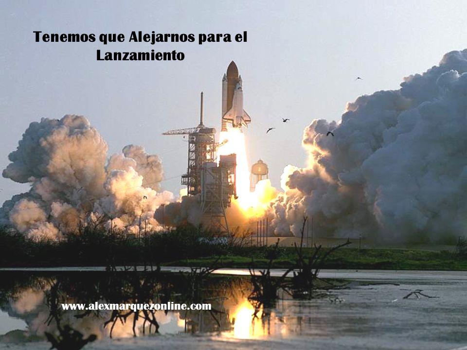 Tenemos que Alejarnos para el Lanzamiento www.alexmarquezonline.com