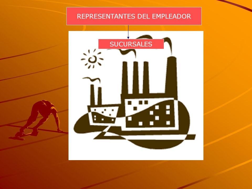 REPRESENTANTES DEL EMPLEADOR SUCURSALES