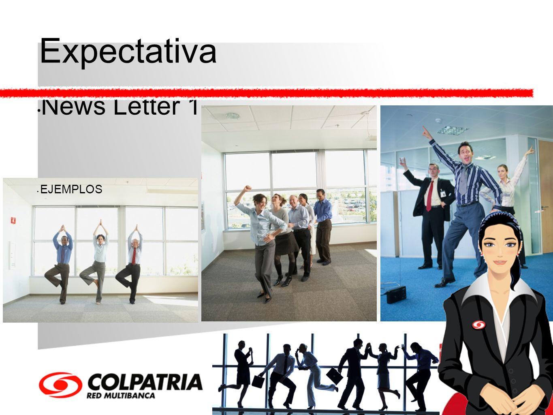Expectativa News Letter 1 EJEMPLOS