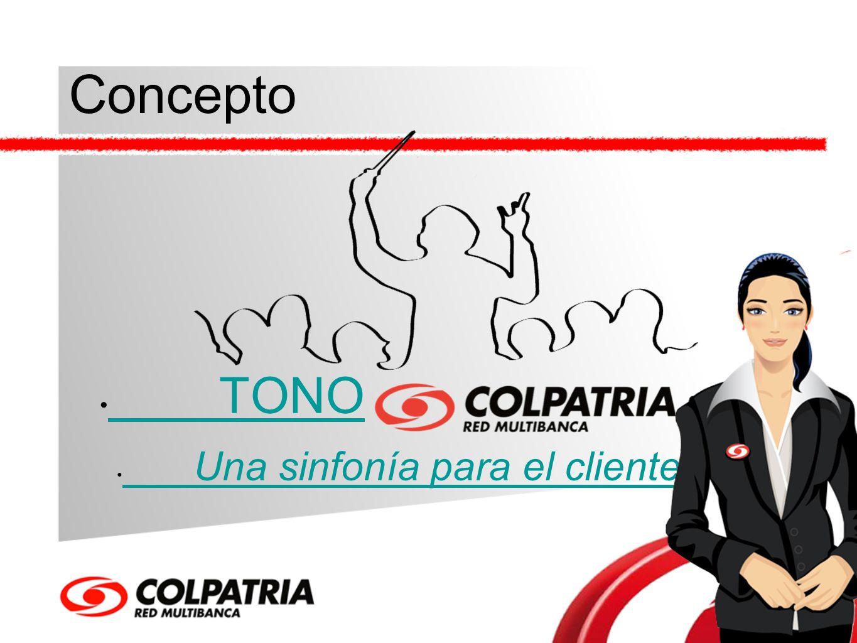 Concepto TONO Una sinfonía para el cliente. Una sinfonía para el cliente.