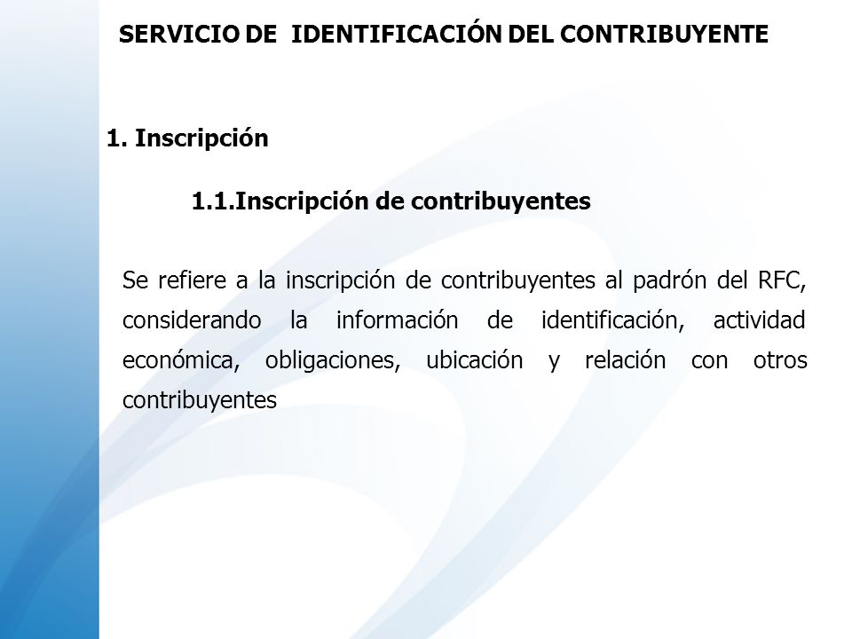 Datos de ubicación Capturar: Domicilio Teléfono Correo electrónico mario.mtnez@yahoo.com.mx SERVICIO DE IDENTIFICACIÓN AL CONTRIBUYENTE