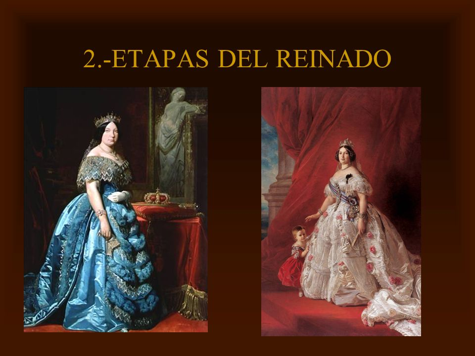 Mª Victoria Landa 2.-ETAPAS DEL REINADO