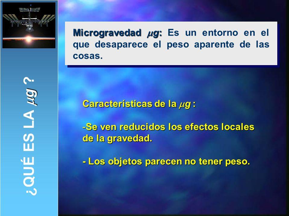 EXPERIMENTO II: El muelle en microgravedad.