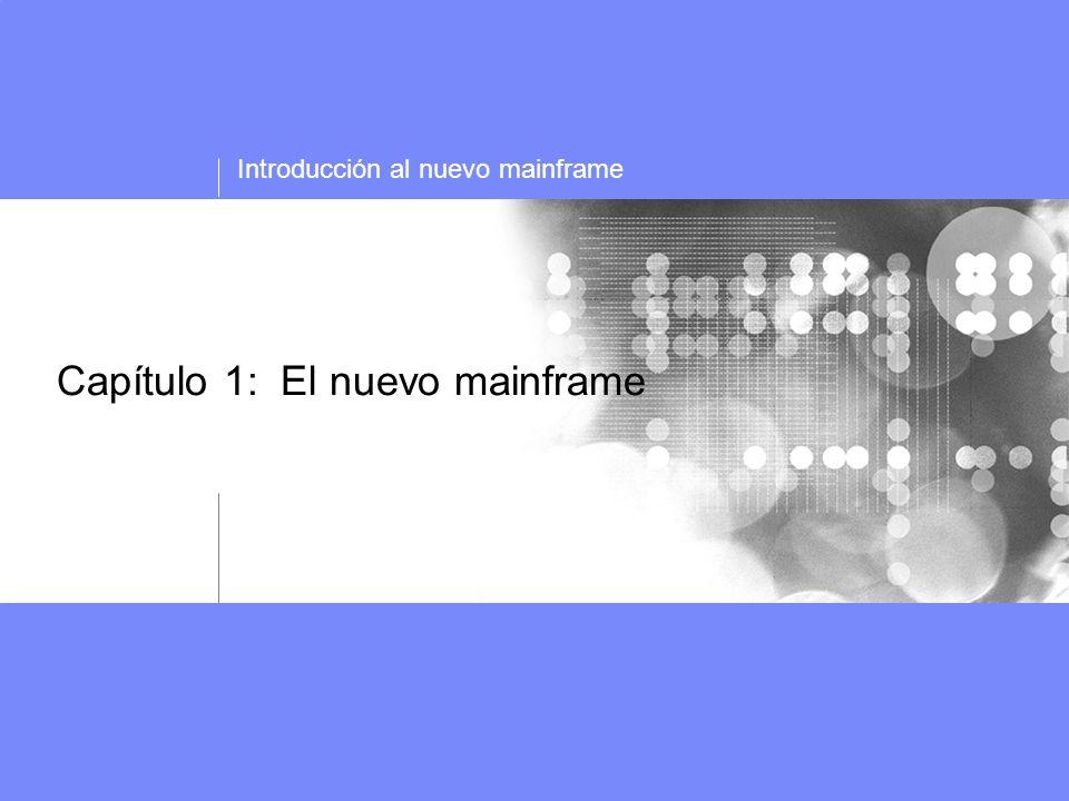 Capítulo 01 El nuevo mainframe Roles en el mundo Mainframe