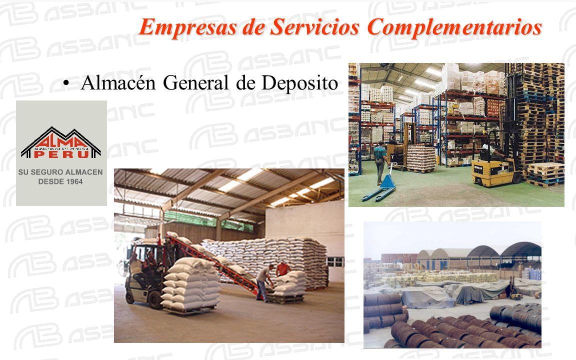 Empresas de Servicios Complementarios Almacén General de Deposito