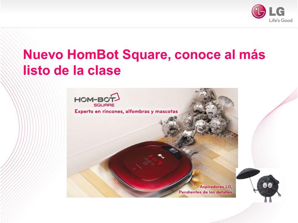 Nuevo HomBot Square, conoce al más listo de la clase