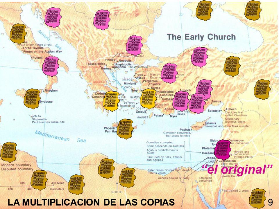 el original LA MULTIPLICACION DE LAS COPIAS9