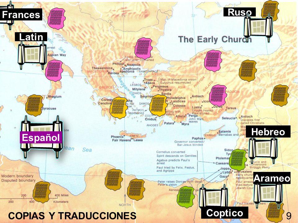 Hebreo Arameo Coptico Latin Ruso Frances COPIAS Y TRADUCCIONES9 Español