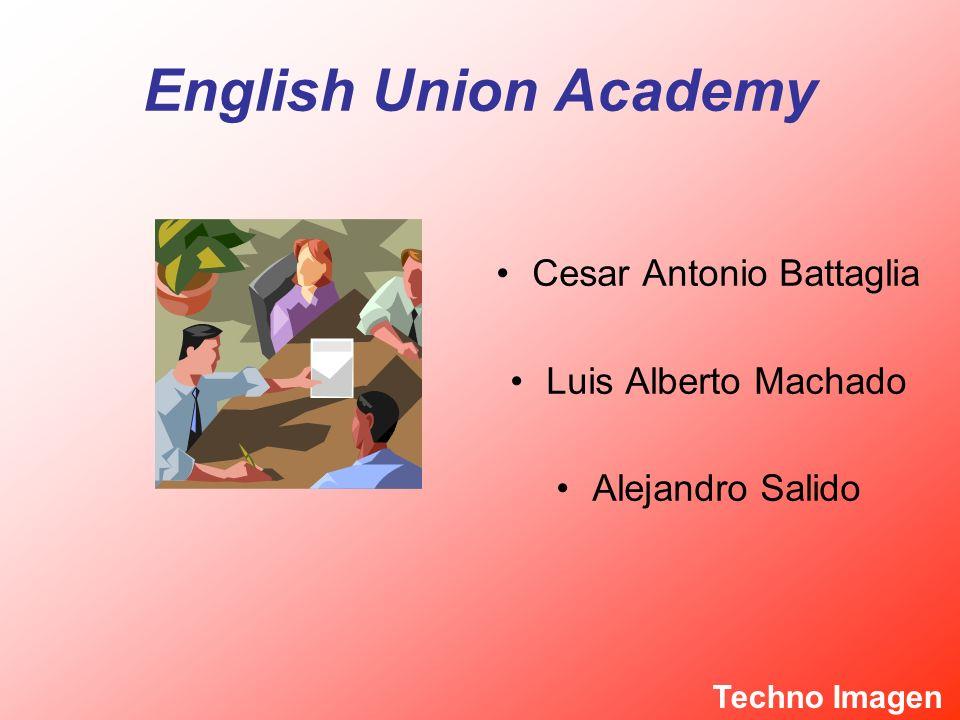 English Union Academy Cesar Antonio Battaglia Luis Alberto Machado Alejandro Salido Techno Imagen