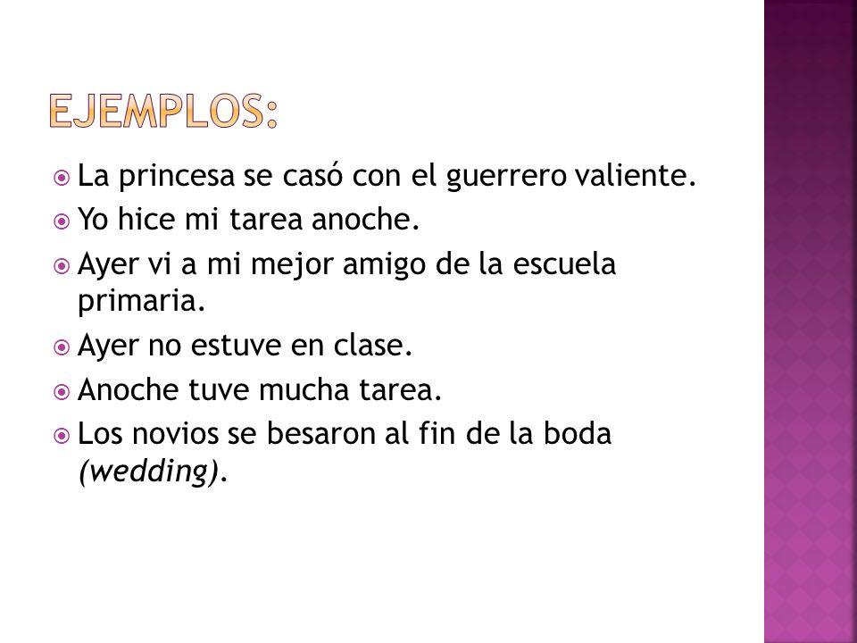 Es el segundo (second) de los 2 tiempos pasados en español.