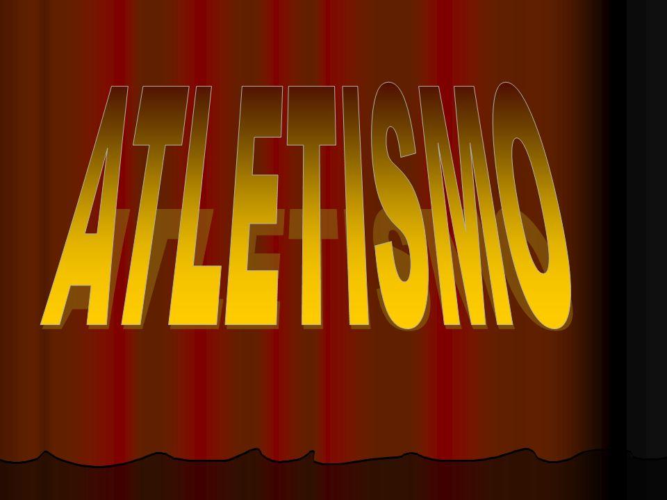 La palabra atletismo proviene del griego athlon que significa lucha, competencia, combate; nada se sabe de los primeros torneos deportivos, pero muy bien podría haber comenzado en una carrera pedestre.