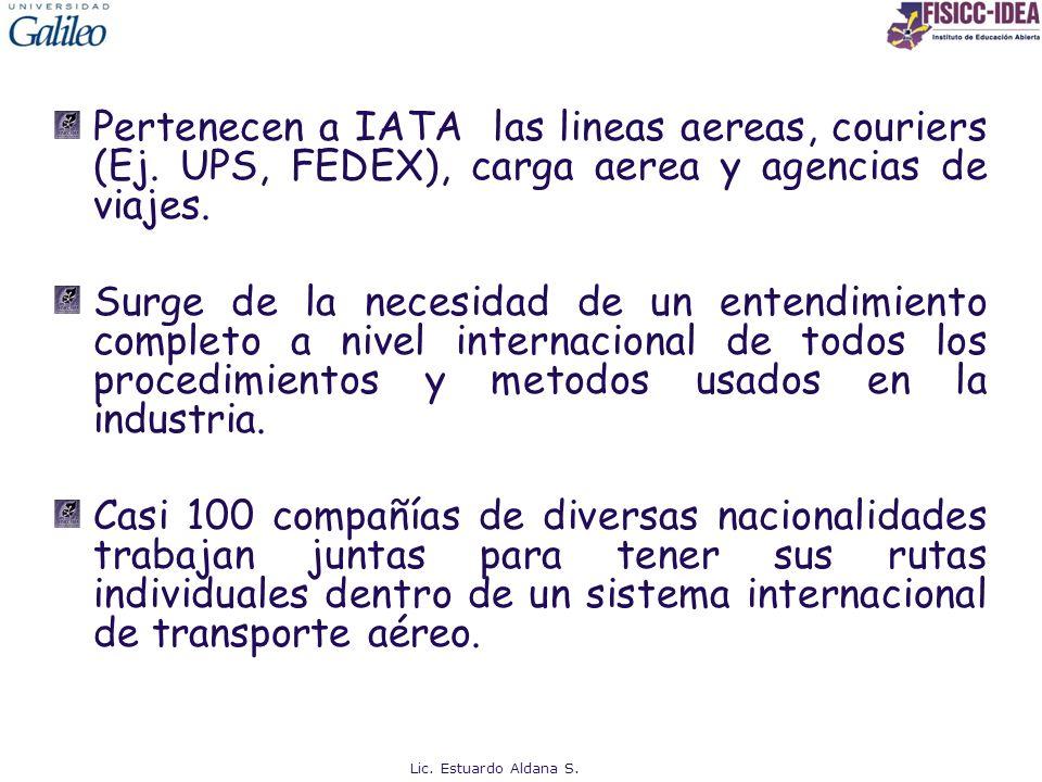FUNCIONES IATA - Promover un transporte aéreo regular, económico y seguro.