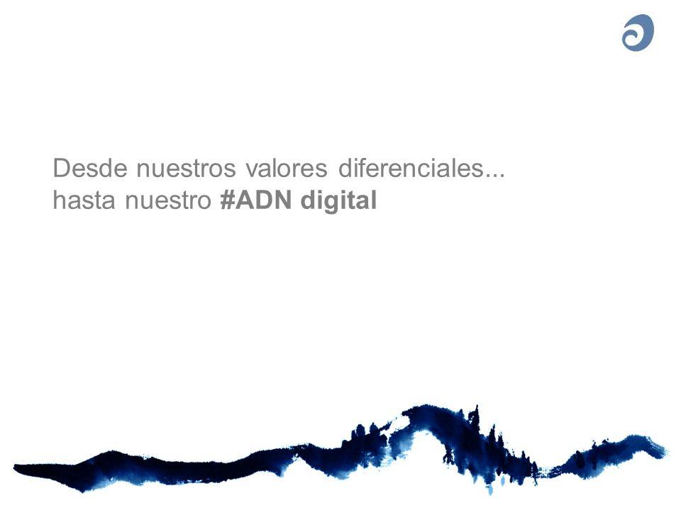 Desde nuestros valores diferenciales... hasta nuestro #ADN digital