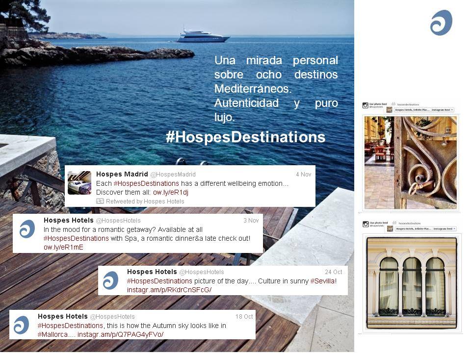 #HospesDestinations Una mirada personal sobre ocho destinos Mediterráneos.