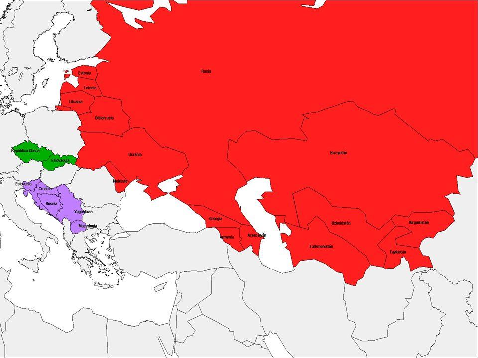Mapa Quiebra URSS