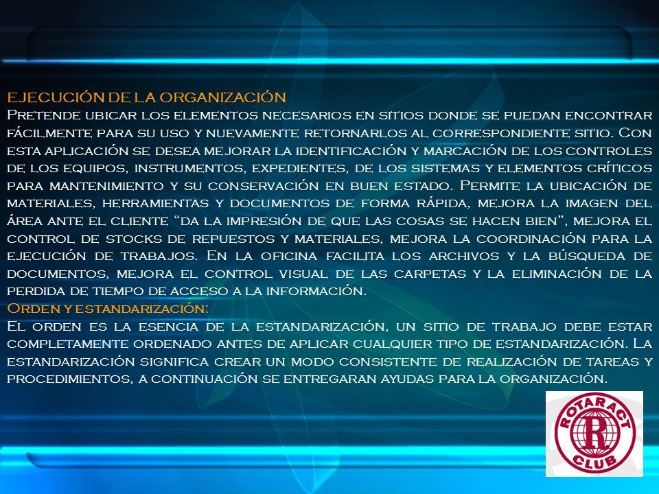 PASOS PROPUESTO PARA ORGANIZAR: EN PRIMER LUGAR, DEFINIR UN NOMBRE, CODIGO O COLOR PARA CADA CLASE DE ARTÍCULO.