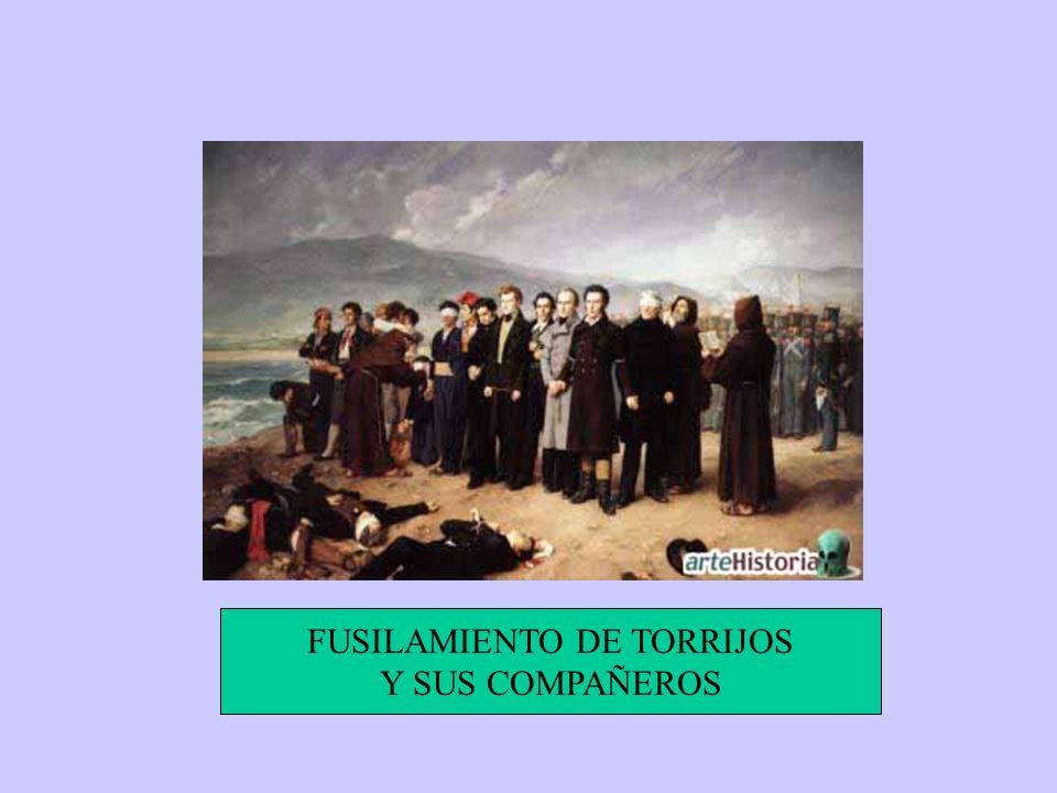 FUSILAMIENTO DE TORRIJOS Y SUS COMPAÑEROS