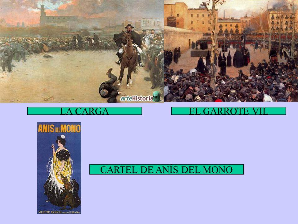 LA CARGAEL GARROTE VIL CARTEL DE ANÍS DEL MONO