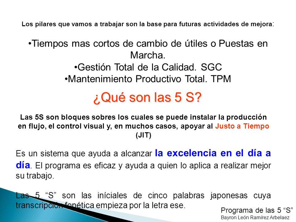SEIKETSU - ESTANDARIZAR Programa de las 5 S Bayron León Ramírez Arbelaez VOLVER PASO 2.