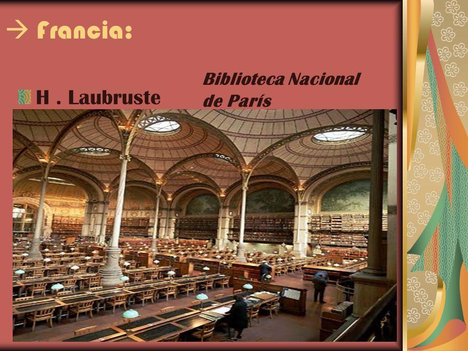 Francia: H. Laubruste Biblioteca Nacional de París