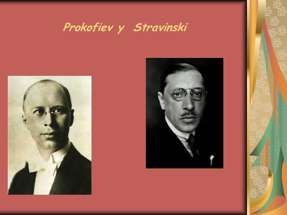 Prokofiev y Stravinski