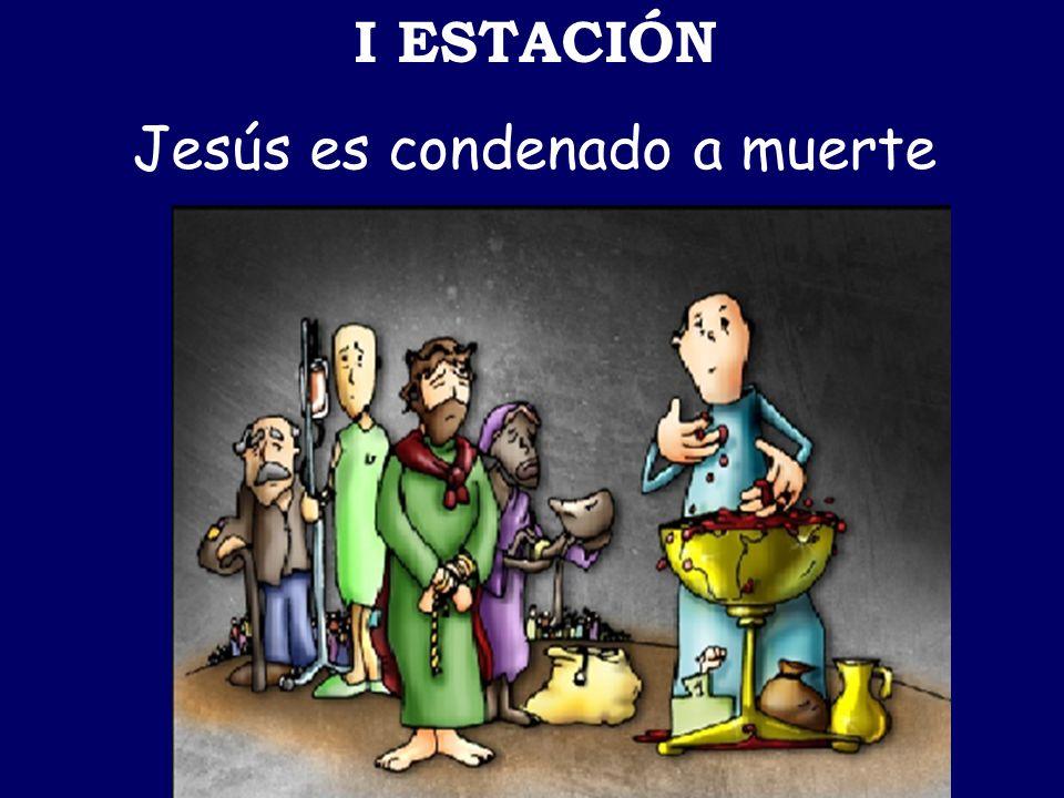 VI ESTACIÓN La Verónica limpia el rostro de Jesús