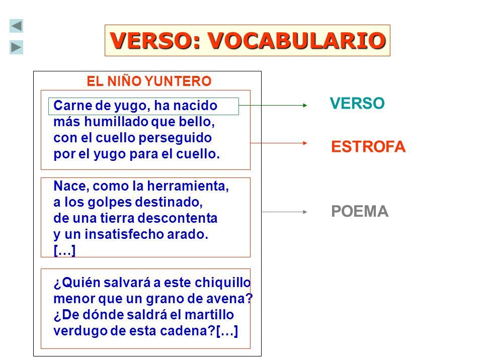 VERSO: LA MÉTRICA Licencias métricas A la hora de medir los versos hay que tener en cuenta las licencias métricas y la acentuación de la última palabra del verso.