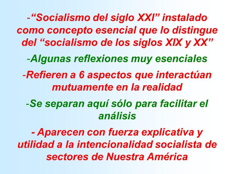 I EL SOCIALISMO DEL SIGLO XXI TIENE UN FUNDAMENTO DEMOCRÁTICO, A PARTIR DEL CONOCIMIENTO