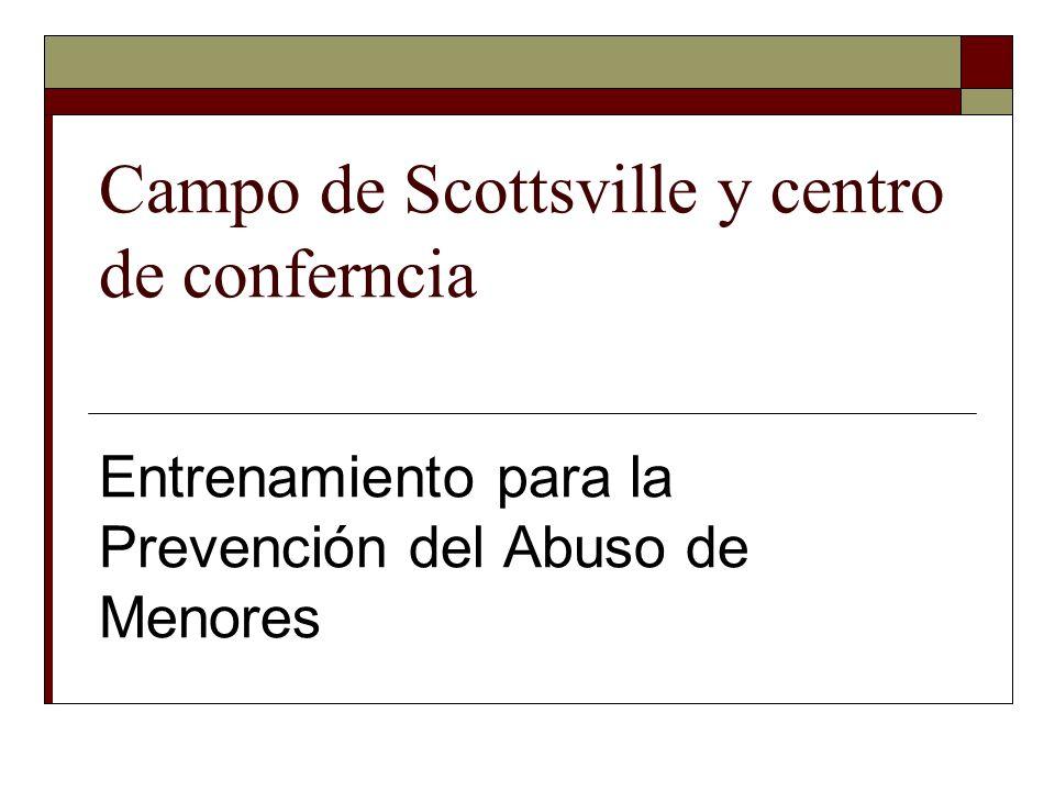 Campo de Scottsville y centro de conferncia Entrenamiento para la Prevención del Abuso de Menores