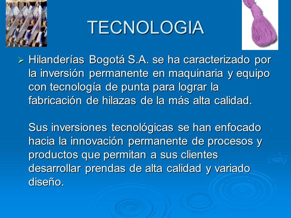 Acerca de esta empresa Hilanderías Bogotá S.A.