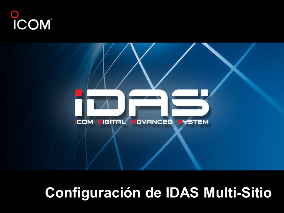 Configuración de IDAS Multi-Sitio