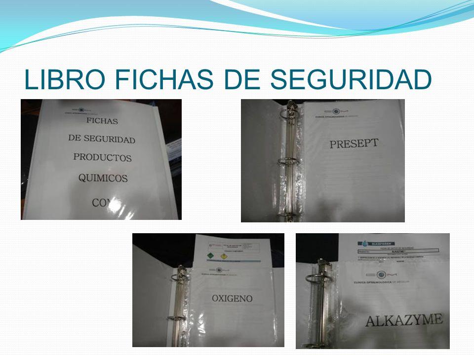 LIBRO FICHAS DE SEGURIDAD