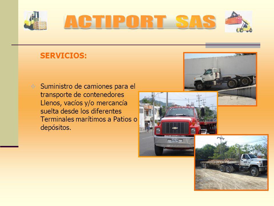 SERVICIOS: Bodegas habilitadas para resguardar toda clase de mercancías