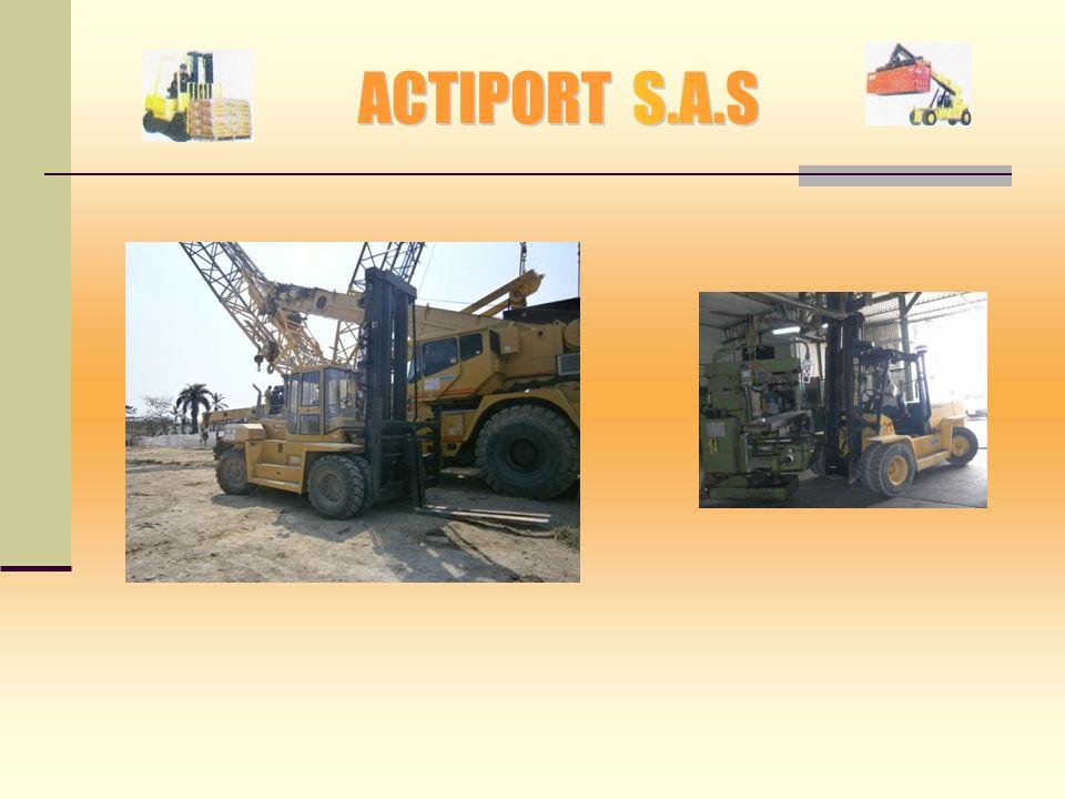 SERVICIOS: Suministro de camiones para el transporte de contenedores Llenos, vacíos y/o mercancía suelta desde los diferentes Terminales marítimos a P