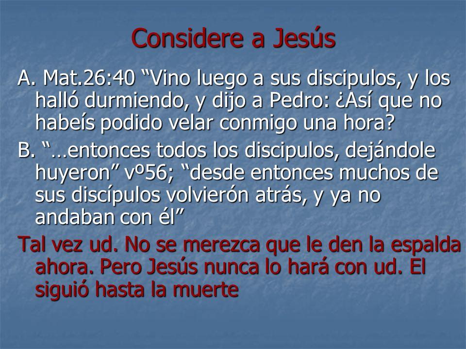 Considere a Jesús A.
