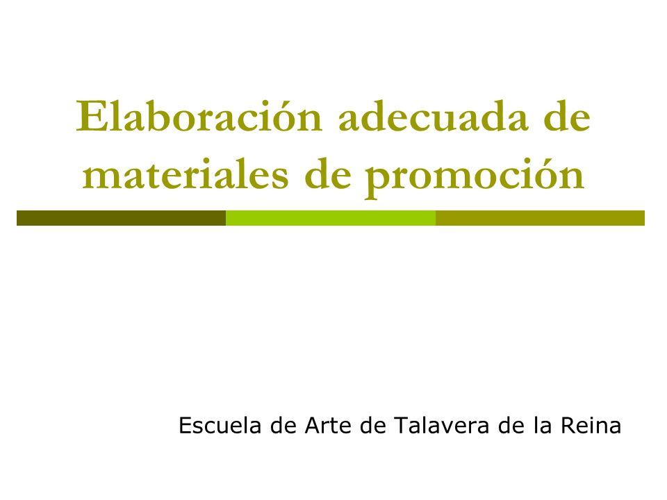 Documentos imprescindibles Curriculum Dossier personal Dossier de proyecto artístico Dossier fotográfico Elaboración adecuada de materiales de promoción