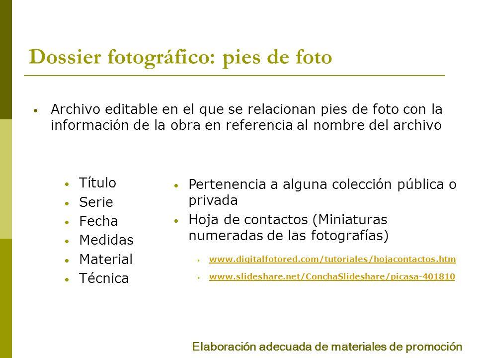 FORMATO DE IMÁGENES Impresión.jpg -.tff Pantalla.jpg -.gif -.png Formatos Elaboración adecuada de materiales de promoción