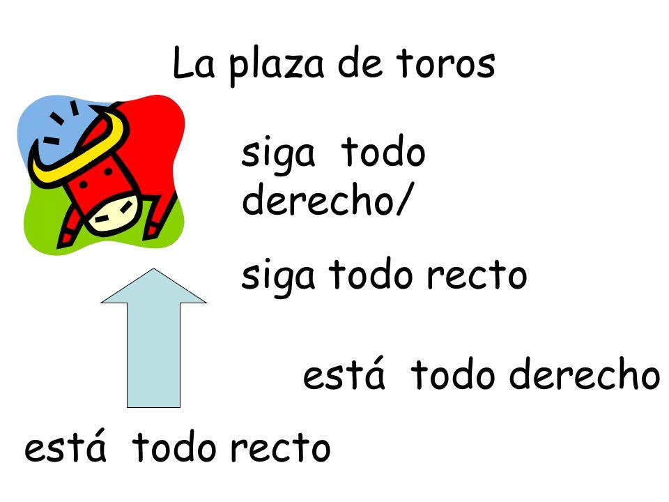 Traduce las frases: ¿Por dónde se va al cine.
