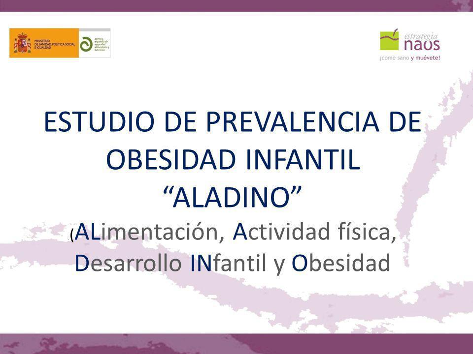ESTUDIO DE PREVALENCIA DE OBESIDAD INFANTIL ALADINO. ( ALimentación, Actividad física, Desarrollo INfantil y Obesidad