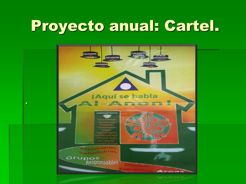 Proyecto anual: Cartel..