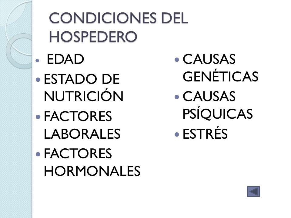 colonización Microorganismos que se instalan en cada región, variando según las características ambientales de ésta Número estable y compatible con la salud ( estado de tolerancia)