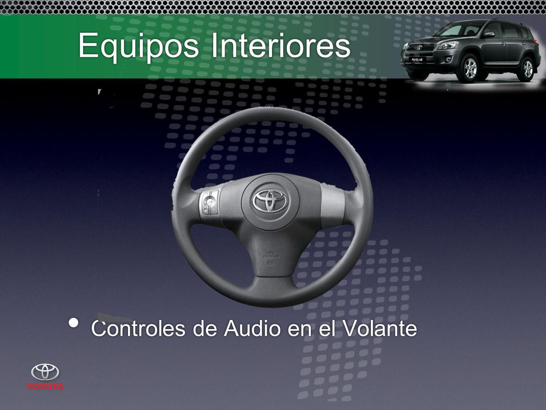 Equipos Interiores Controles de Audio en el Volante