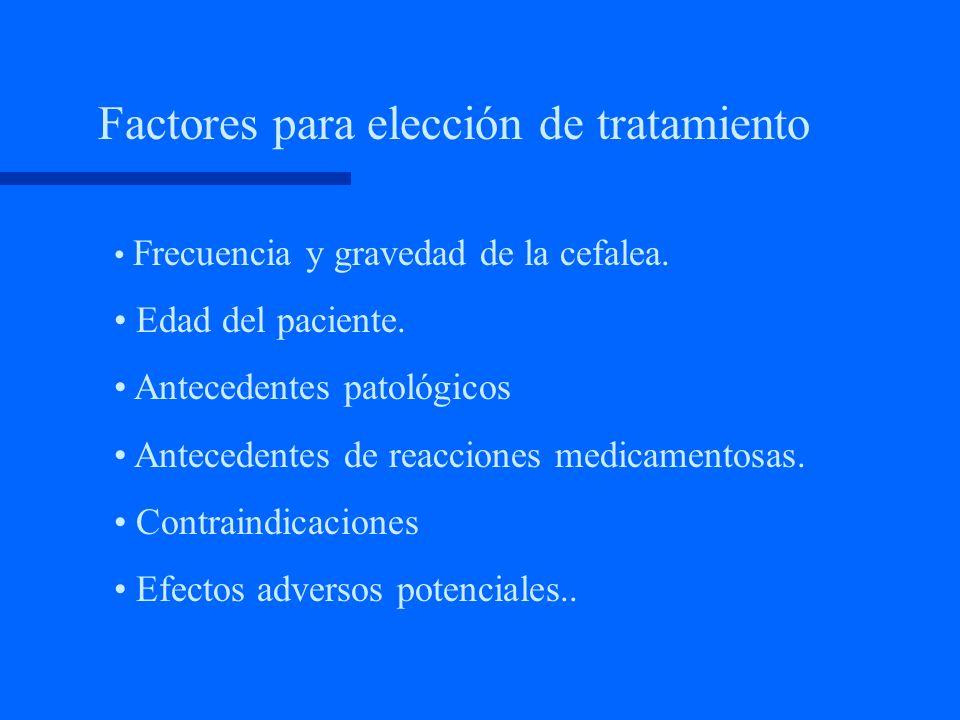 Tratamiento sintomático - Antieméticos - Otras drogas como: Esteroides Lidocaina Fenotiazinas Opiáceos