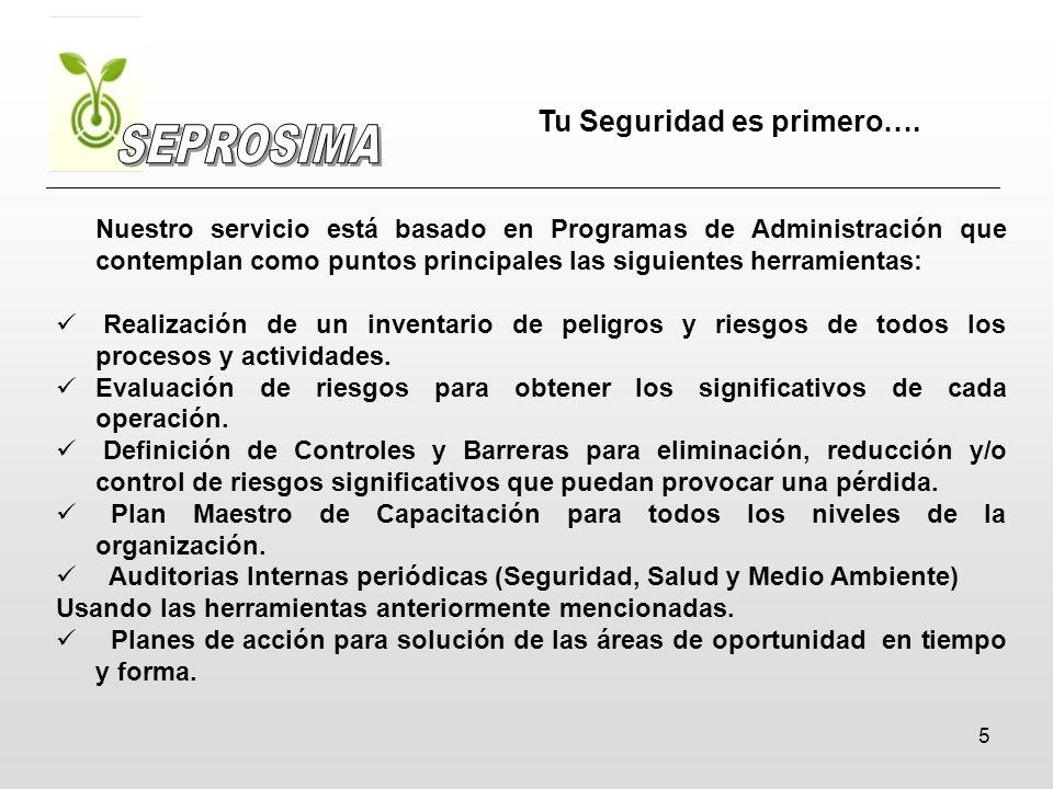 6 Supervisión constante y estrecha de las operaciones y retroalimentación del personal operativo / administrativo para la mejora continua del servicio.