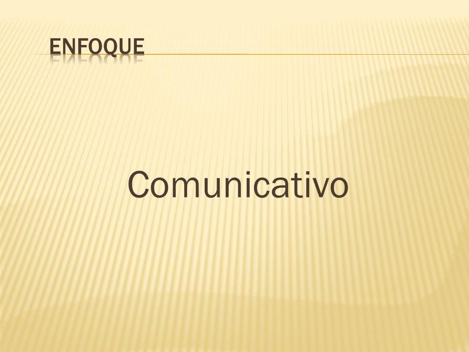 Comunicativo