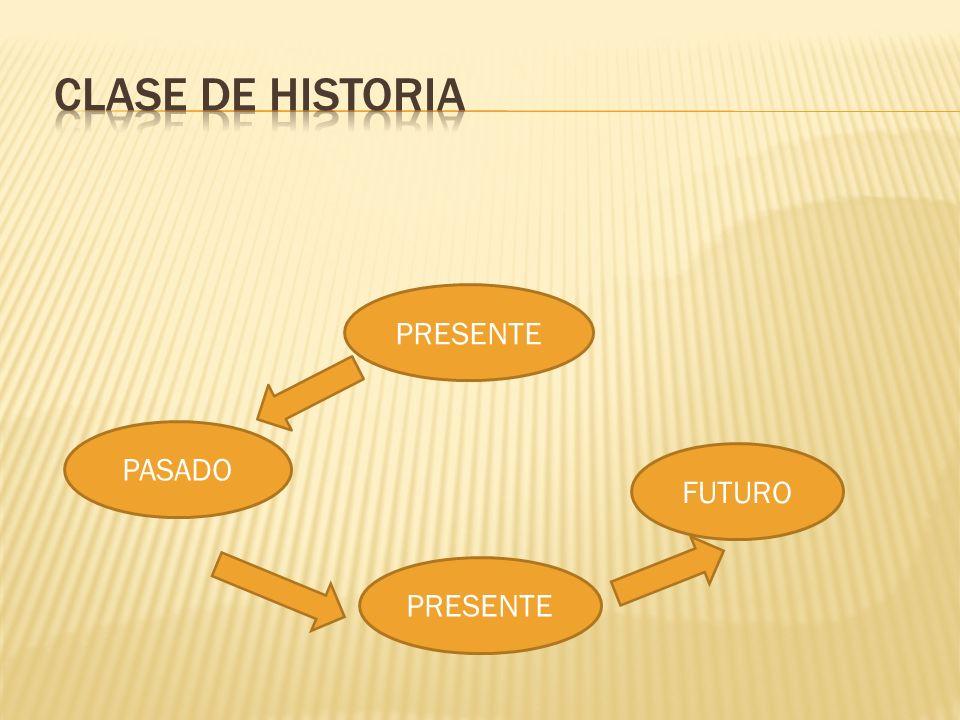 PRESENTE PASADO FUTURO PRESENTE