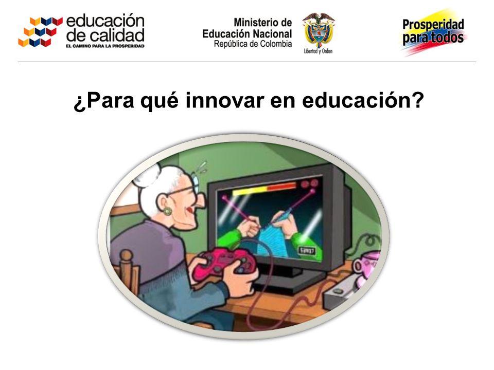 Todo proceso de cambio e innovación surge como respuesta a una necesidad o como posibilidad para el fortalecimiento educativo.