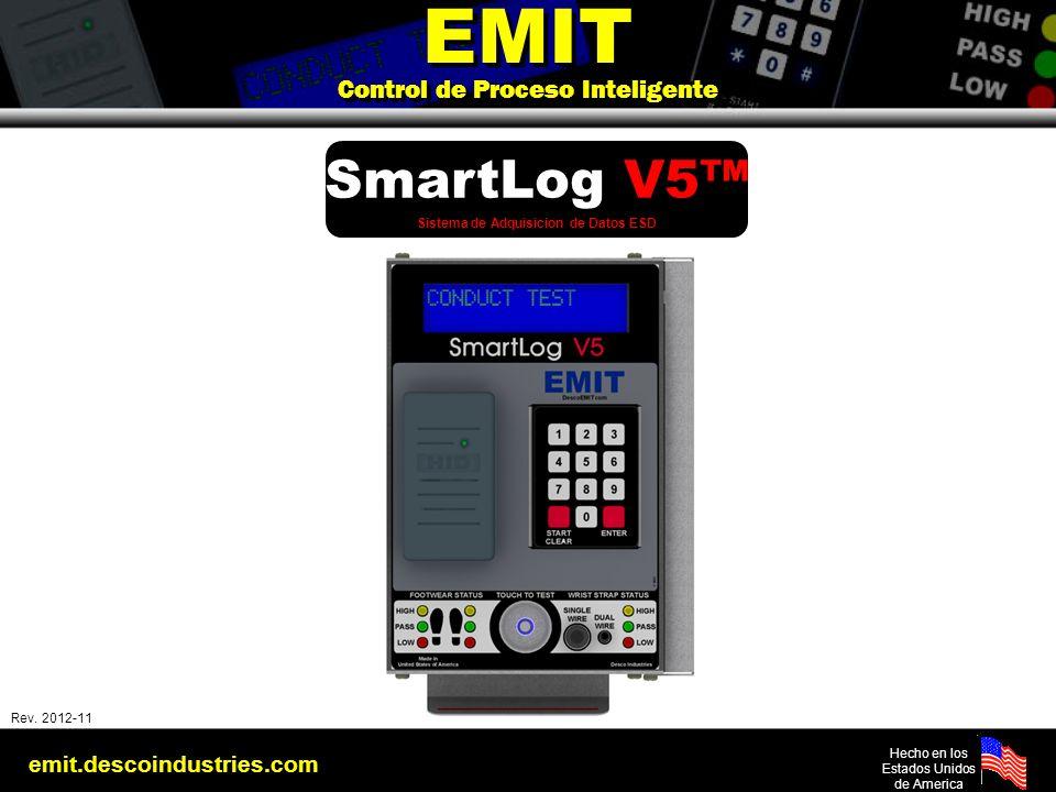 emit.descoindustries.com Hecho en los Estados Unidos de America Rev: 2010-03-01 EMIT Control de Proceso Inteligente EMIT Control de Proceso Inteligent