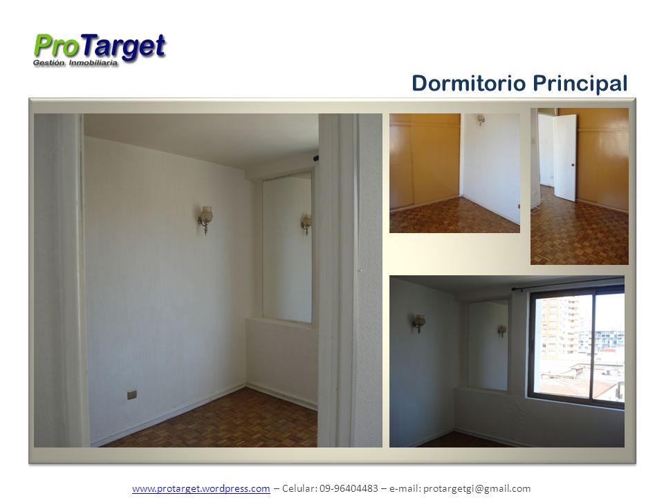 www.protarget.wordpress.comwww.protarget.wordpress.com – Celular: 09-96404483 – e-mail: protargetgi@gmail.com Dormitorio Principal
