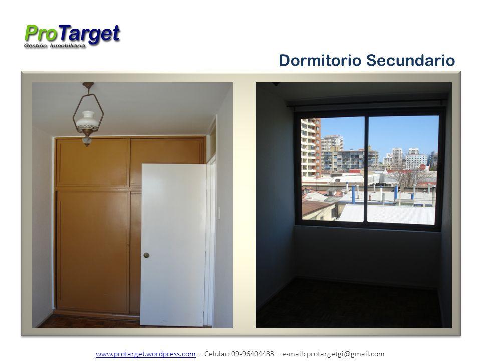 www.protarget.wordpress.comwww.protarget.wordpress.com – Celular: 09-96404483 – e-mail: protargetgi@gmail.com Dormitorio Secundario